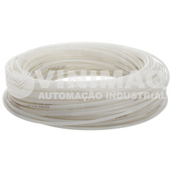 Tubo nylon 6mm x 4mm 150 lbs transparente